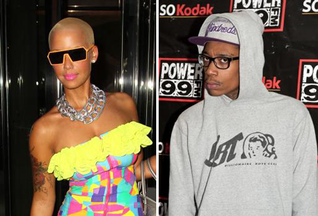 wiz khalifa amber rose engaged. Amber Rose and Wiz Khalifa //