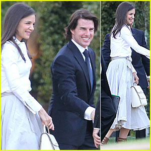 Tom Cruise Katie Holmes Attend Brad Greys Wedding0 Comments