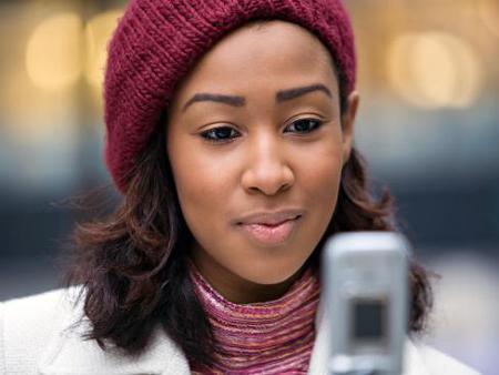 girl-checking-text