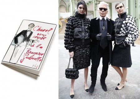 Chanel_fw2015_Karl_Lagerfeld_Kendall_Cara
